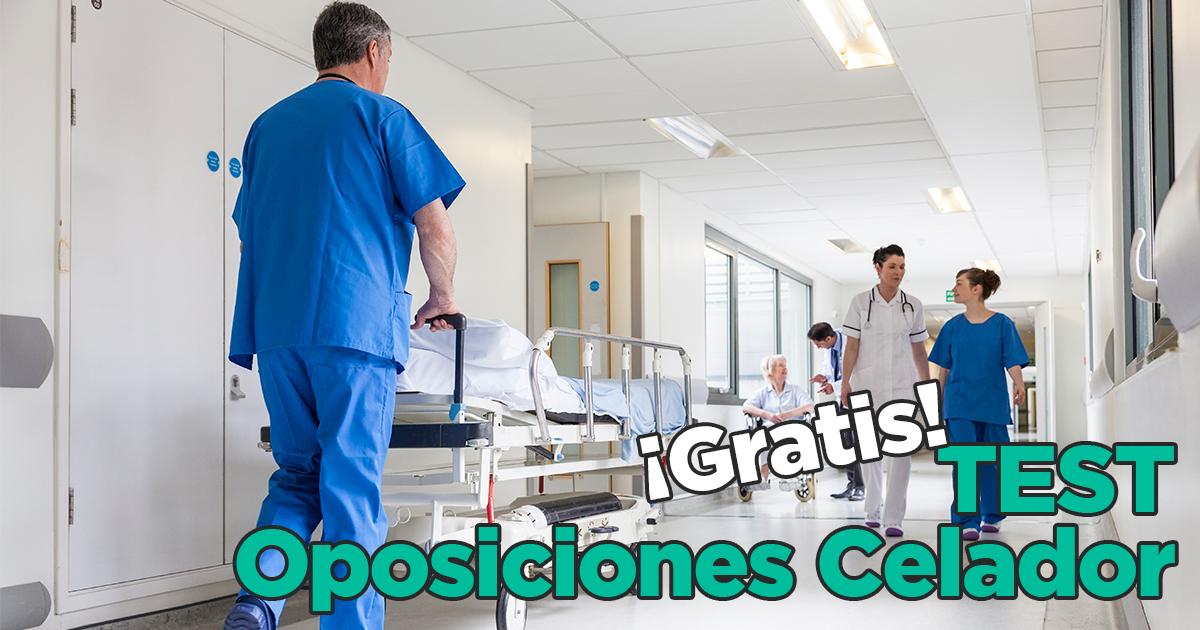 Imagen de Test Oposiciones Celador